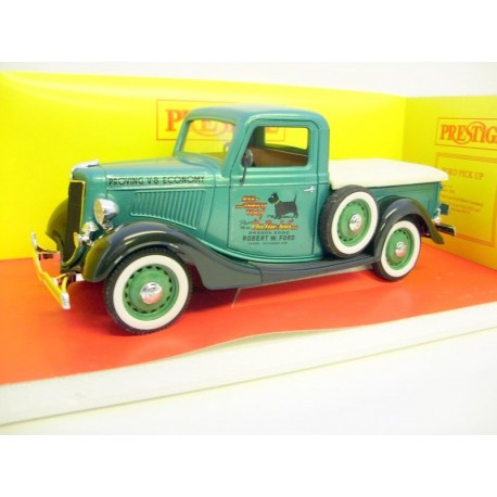 FORD PICK-UP MET. GREEN ROBERT W FORD