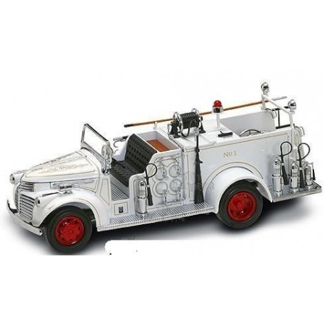 GMC Fire Truck FPD 1941, Wit