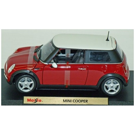 ini Cooper Red with white roof