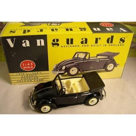 VW Cabriolet in black