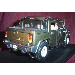 2003 Hummer H2 SUT - Metallic Green