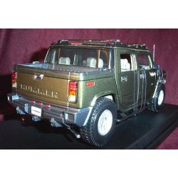 2003 Hummer H2 SUT - Metallic Green