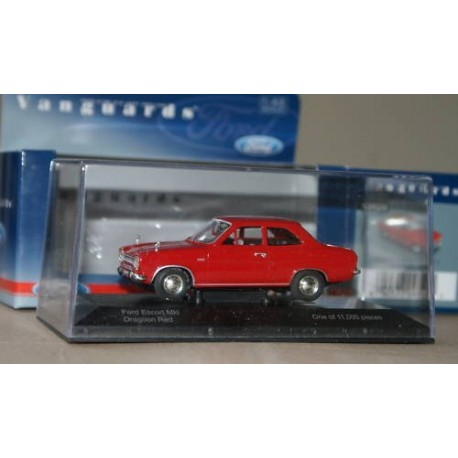 FORD ESCORT MKI DRAGON RED