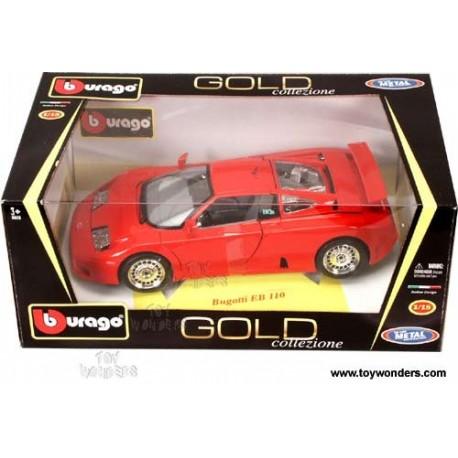 Bugatti EB 110 rood