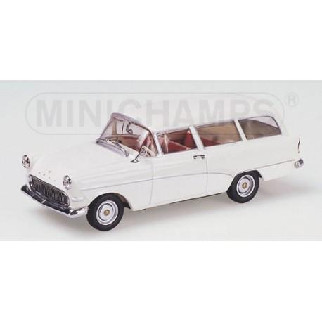 OPEL REKORD P1 CARAVAN 1958 WHITE