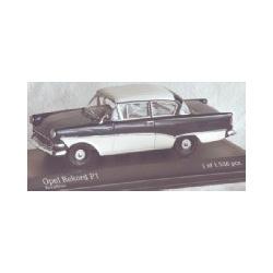 Opel Rekord P1 1958 Dark blue
