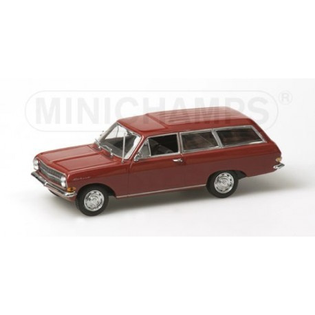 OPEL REKORD A BREAK RED 1963