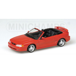 FORD MUSTANG CABRIOLET 1994 RED
