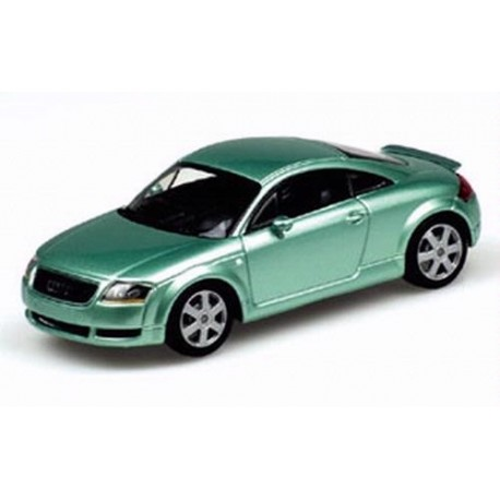 AUDI TT COUPE 2000 GREEN METALLIC