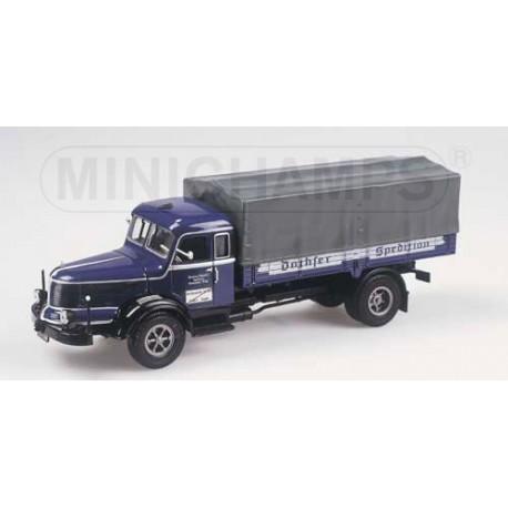1950 Krupp Titan - Canvas Truck 'Dachser'