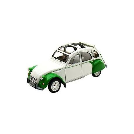 1985 Citroen 2CV Dolly Green/White