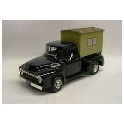 1956 Ford F-100 Pickup Camper Black