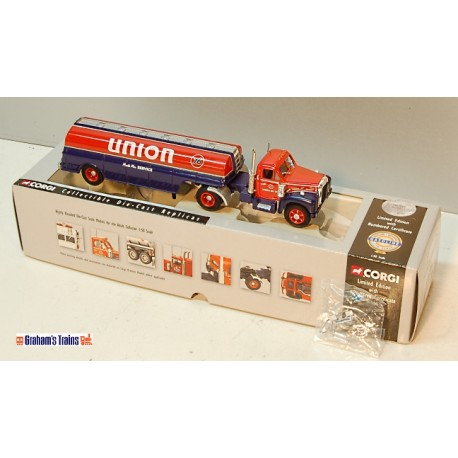 Union 76 Mack B Series Semi-Skirted Tanker/Box