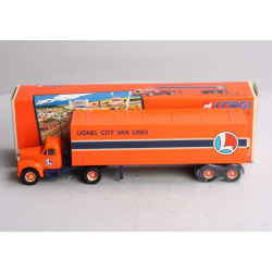 Lionel City Van Lines Mack B Series Semi Truck