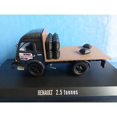 CAMION RENAULT GALION 2.5 TONNES PLATEAU CHARBONNIER 1959