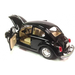 VW Beetle Bug Hardtop- Black