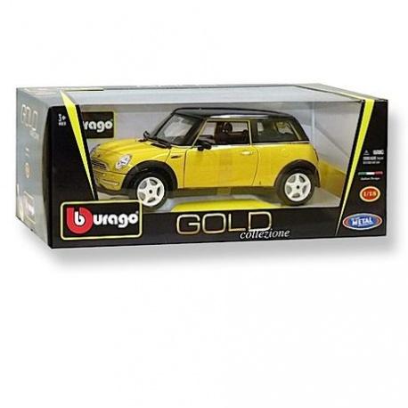 Mini Cooper 2001 geel