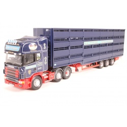 "Scania Topline - Houghton Parkhouse 'The Professional' Livestock Transposter ""R.W.Stewart"""