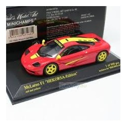 MCLAREN BMW F1 HEKORSA EDITION RED & YELLOW