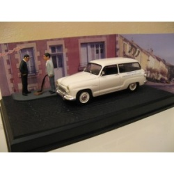 Simca P60 Ranch Diorama