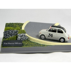 FIAT NUOVA 500 ECO n.36 diorama