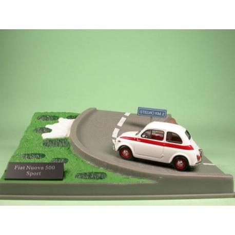 Fiat 500 Sport bianco Diorama