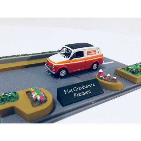 fiat giardiniera plasmon diorama