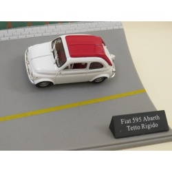 Fiat 595 Abarth Tetto Rigido Diorama