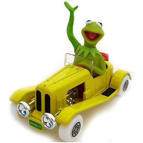 The Muppets Kermit's Car