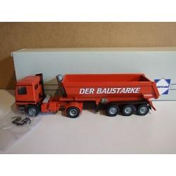 MB-Actros 5-achs Rundmuldenkipper * DER BAUSTARKE