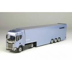 Scania S410 dubbeldeks trailer