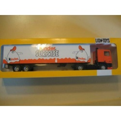 DAF 95 trekker oplegger Kinder surprise