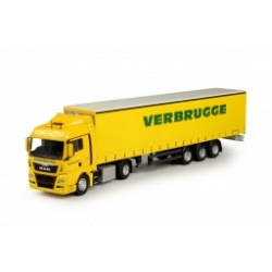DAF 95 TRUCK WITH TRAILER VERBRUGGE