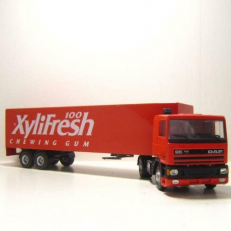 DAF 95 met trailer Xylifresh