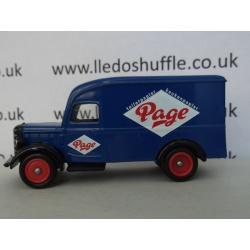 Bedford 30cwt Delivery Van, Page Toiletpapier, Keukenpapier