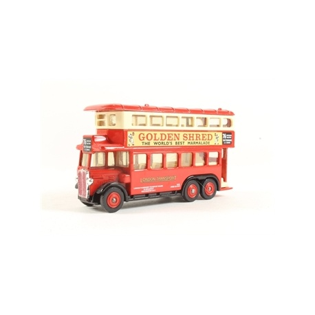 191 AEC Renown Double Deck Bus - London Transport - Golden Shred Advertisments