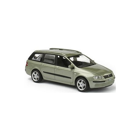 Fiat Stilo multiwagon Verde Cristallo