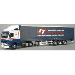 Volvo FH12 & curtain side trailer