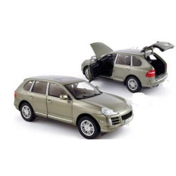Porsche Cayenne S SUV w/ Sunroof (1:18, Light Green)